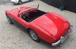 austin healey collectible car