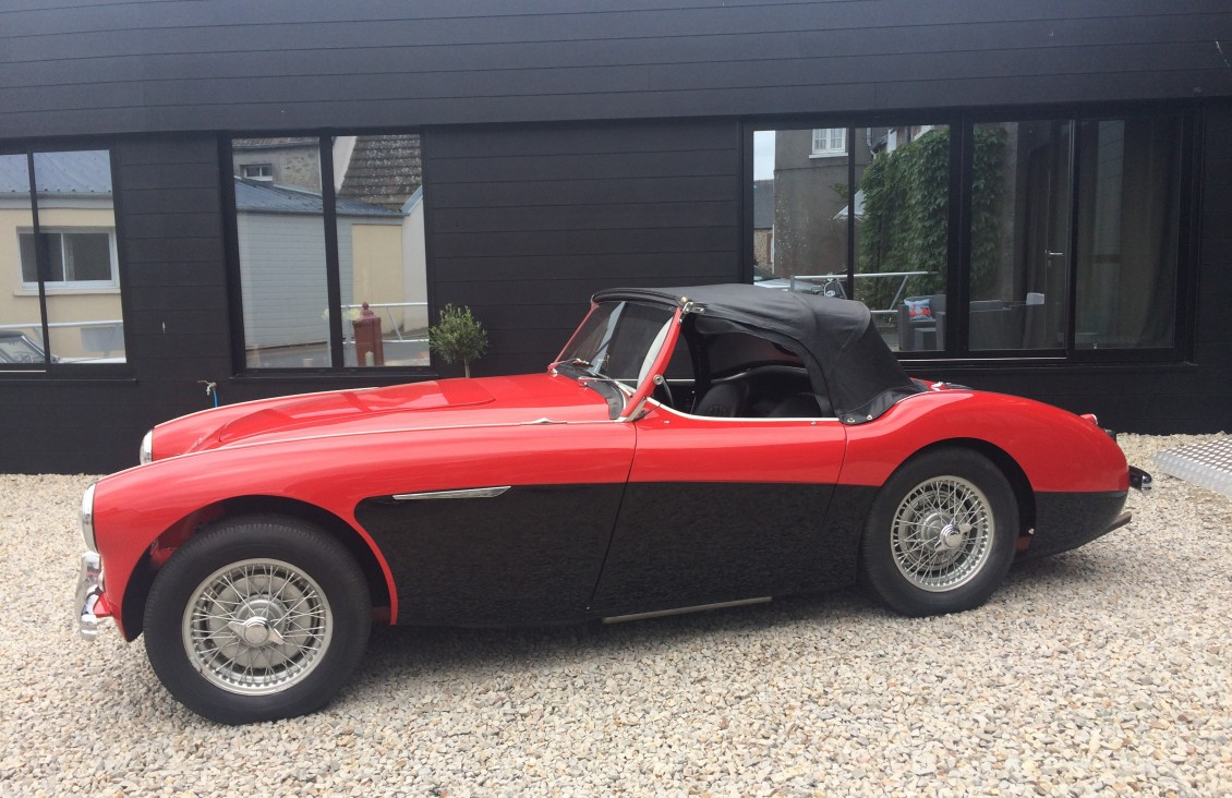 austin healey 1956 2.6L english classic car for sale on european vintage cars