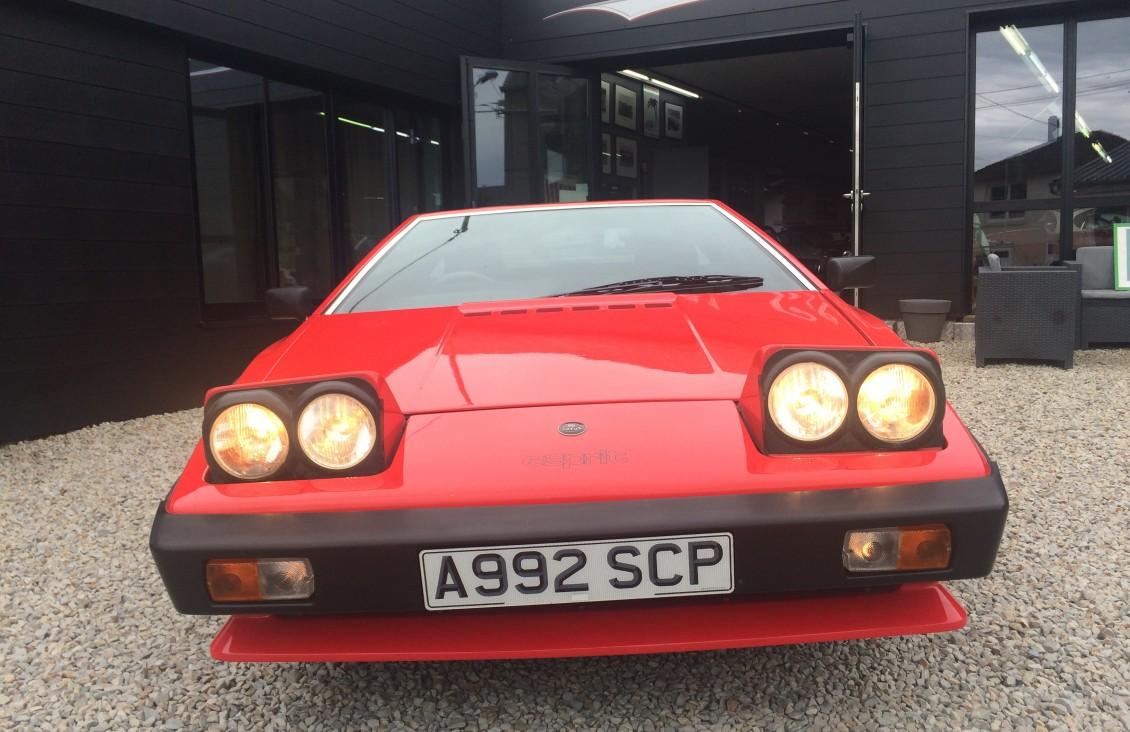 lotus esprit s3 1984 red european classic car