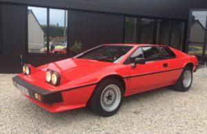 lotus esprit S3 1984 red english classic car
