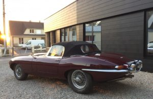 jaguar type e 1964 red legend clasic car for sale on european vintage cars