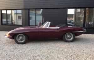 jaguar type e 1964 red legend clasic car for sale on european vintage cars