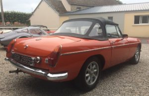 MG B cabriolet 1977 english vintage car for sale on european vintage cars