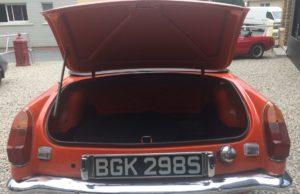 MG B cabriolet 1977 english vintage car for sale on european vintage cars
