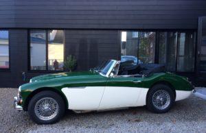 ²austin healey 3000 MK3 green english vintage auto 1966 for sale on european vintage cars