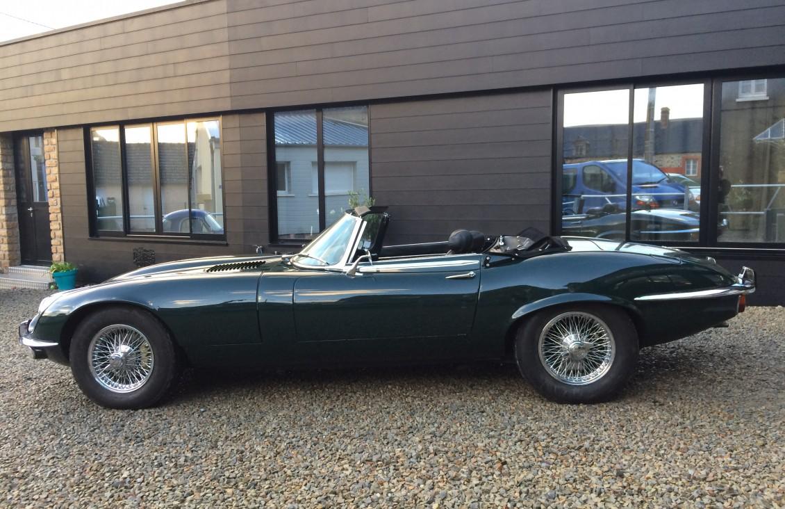 English legend car for sale jaguar type e on European vintage cars