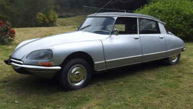 Citroën ds 21 pallas grey 1973 for sale on European Vintage Cars