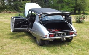 Citroën ds 21 pallas grey 1973 for sale on European Vintage Cars