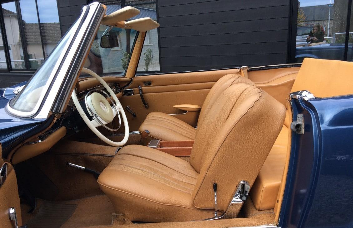 Mercedes 250 SL California.