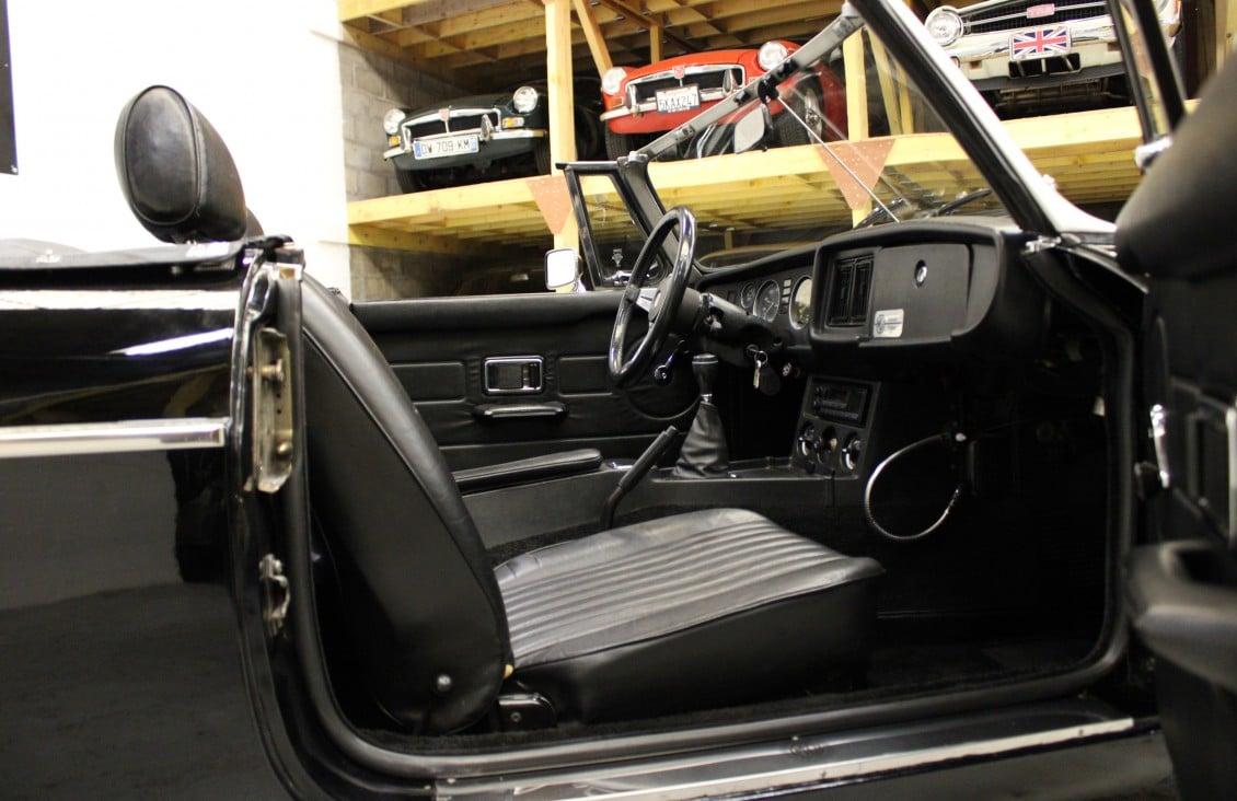 MG B Cabriolet.
