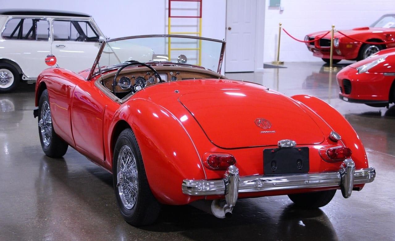 MG A MKII 1962.