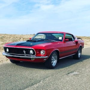 Ford Mustang Mach 1 1969.