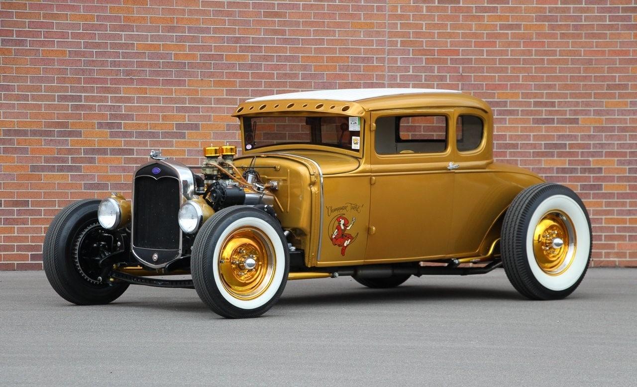 Ford Coupé 1930. Hot rod.