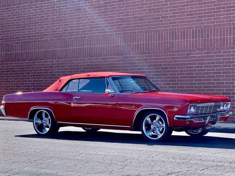 Chevrolet Impala SS 1966 à vendre European Vintage Cars.