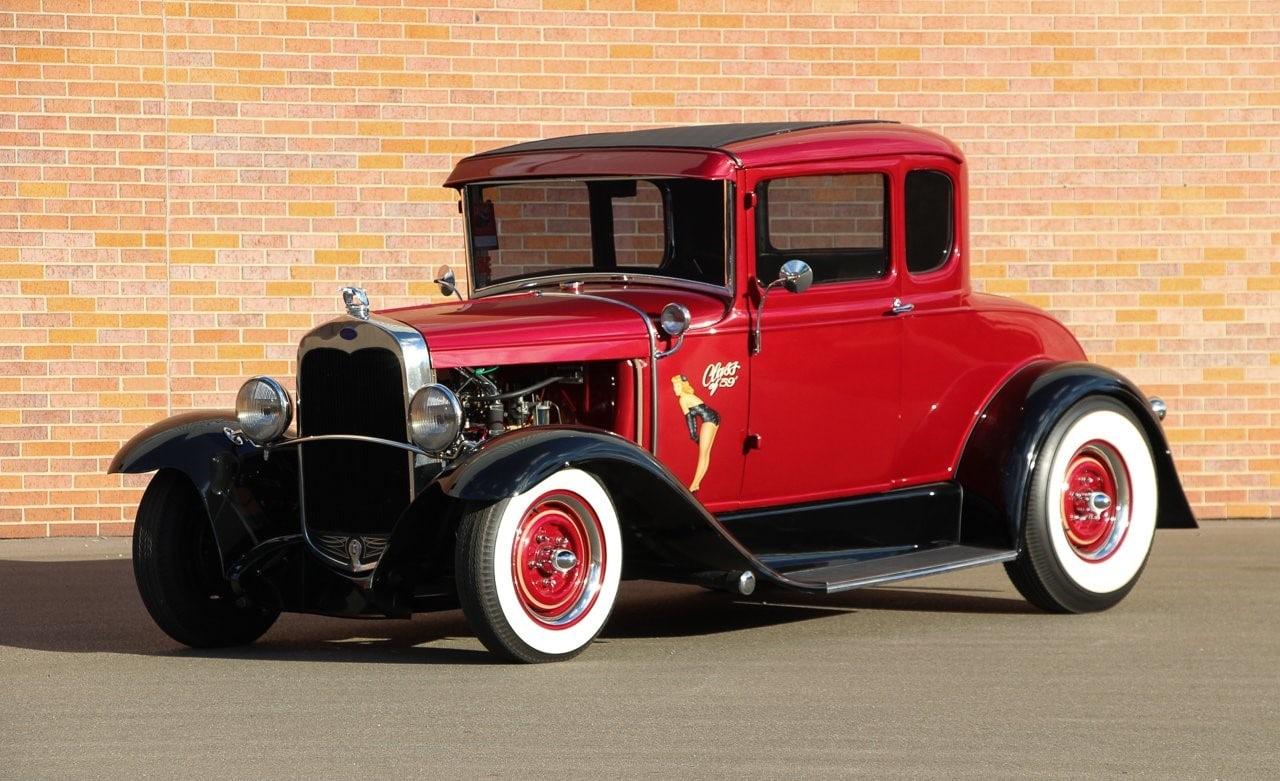 Ford Coupé 1931 à vendre sur European Vintage Cars.