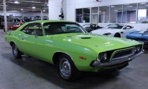 Dodge Challenger 1973 à vendre sur european-vintage-cars.com/fr.