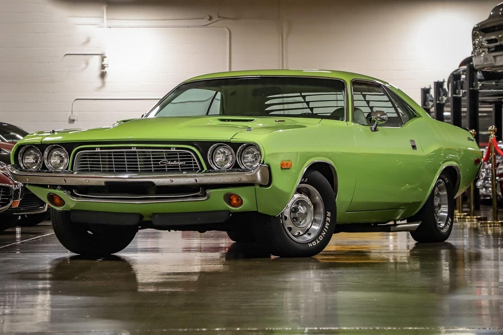 Dodge Challenger 1973 à vendre European vintage cars.
