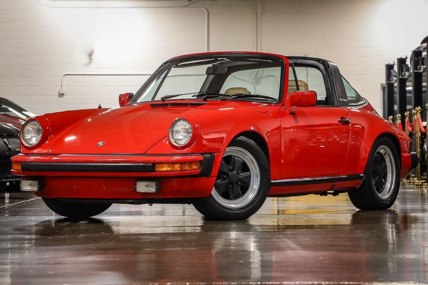 Porsche 911 SC Targa à vendre European Vintage Cars.