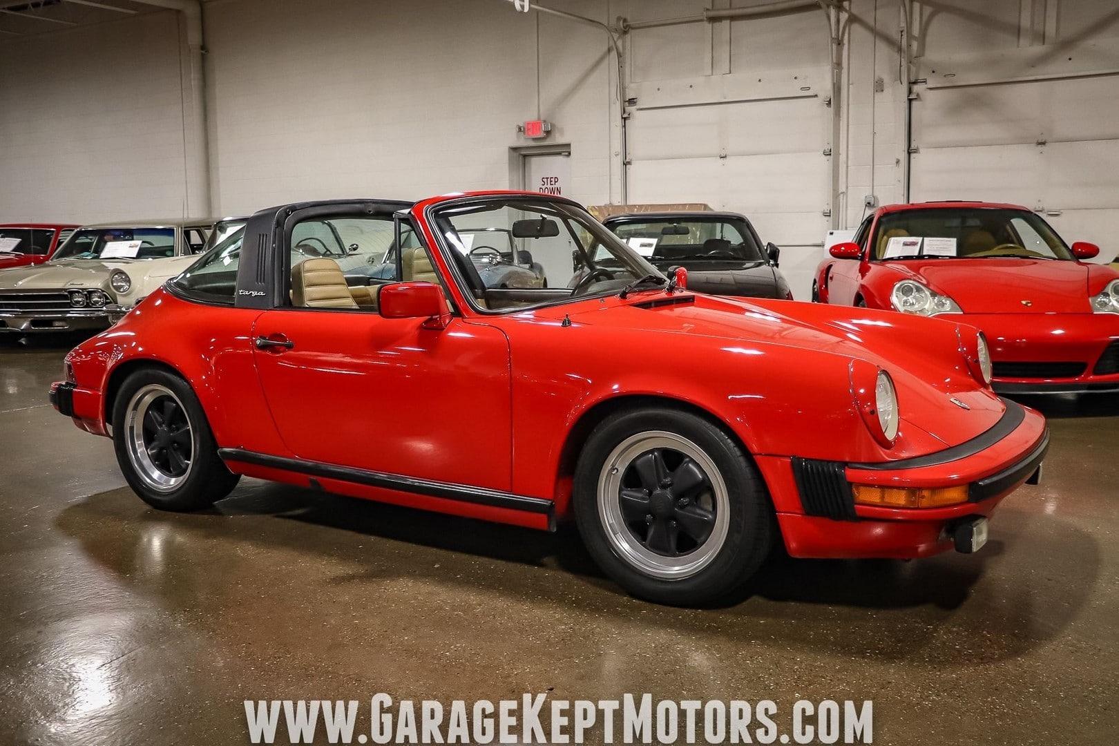 Porsche 911 SC Targa à vendre European Vintage Cars.(15)