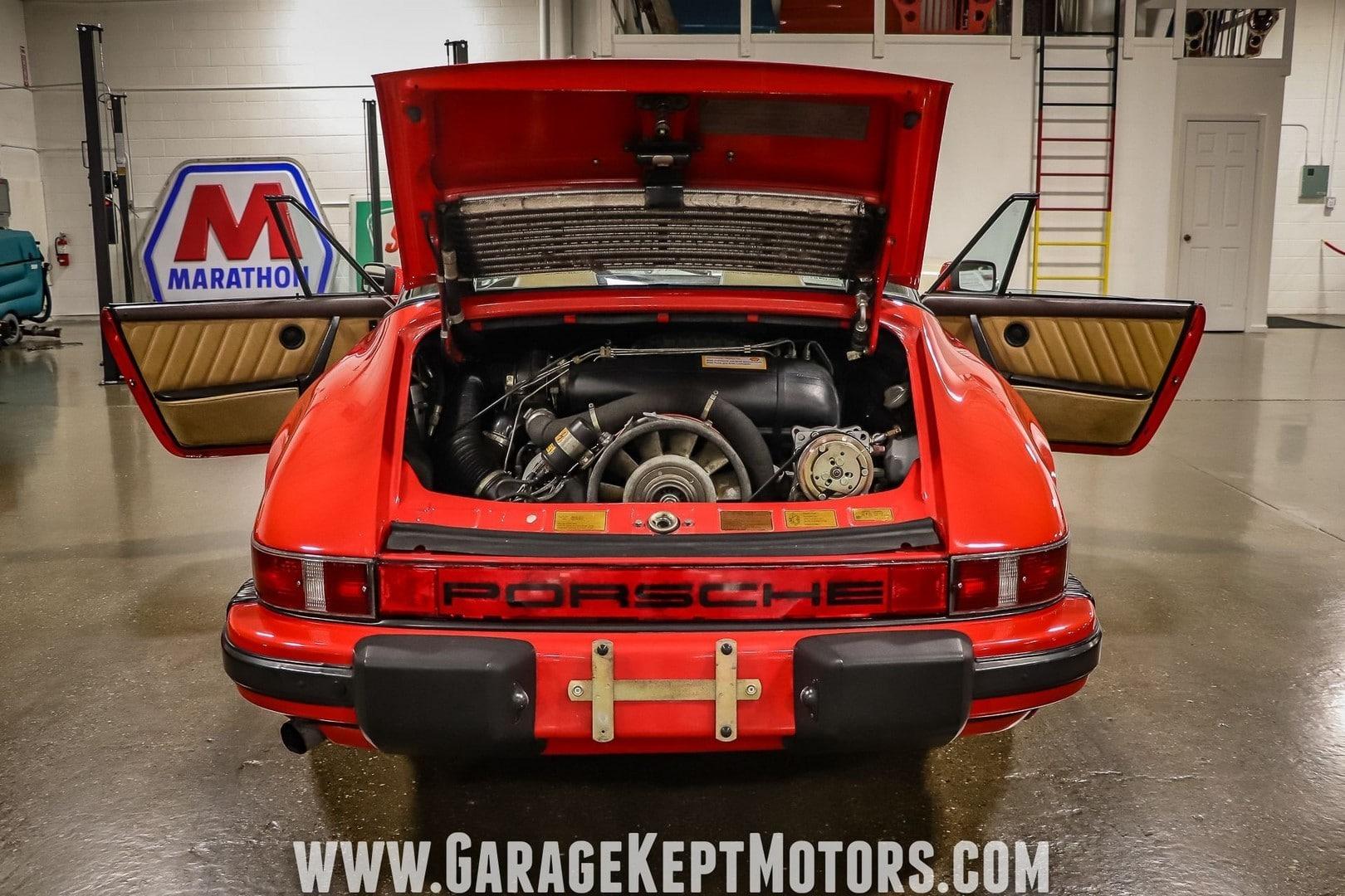 Porsche 911 SC Targa à vendre European Vintage Cars.(81)